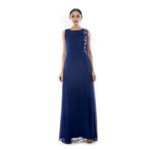 Anushree Agarwal Berry Blue Jumpsuit