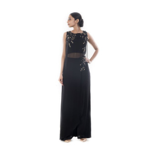 Anushree Agarwal Black Tunic and Palazzo