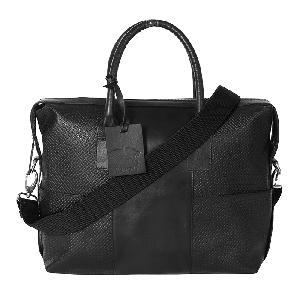 Kaizu Textured Laptop Messenger Bag