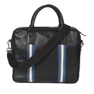 Kaizu Contrast Taped Laptop Messenger Bag