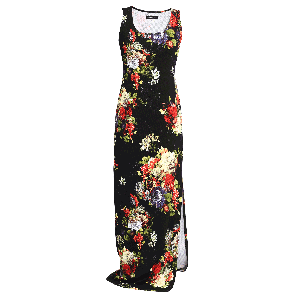 Manoviraj Khosla Floral Printed Maxi Dress