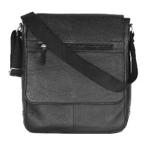 Kaizu Long Flapped Laptop Messenger Bag