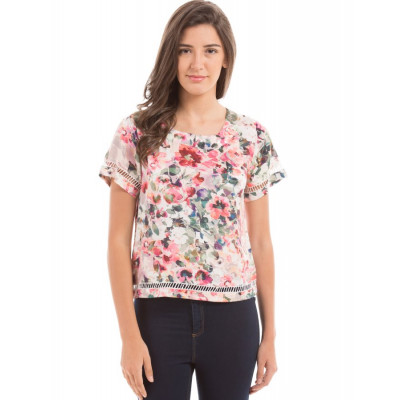 PRYM Floral Lace Insert Top