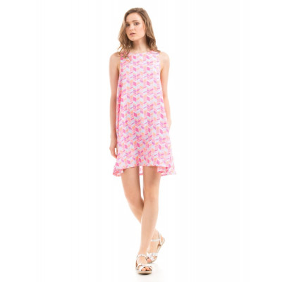 PRYM Pink Sleeveless Swing Dress