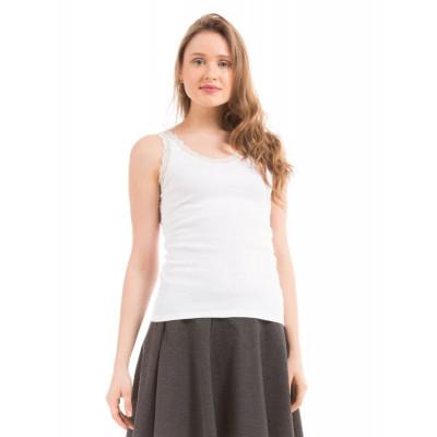 Prym White Lace Vest