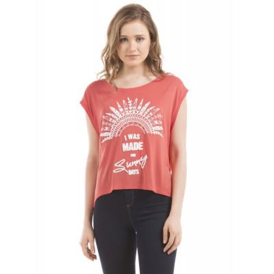 PRYM Boxy Printed T-Shirt