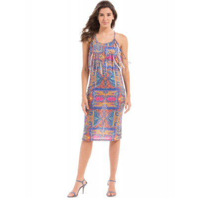 PRYM Printed Knit Midi dress