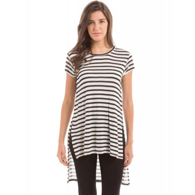 PRYM Striped Extended Shoulders T-Shirt