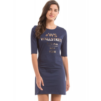 PRYM Navy Fitted Dress
