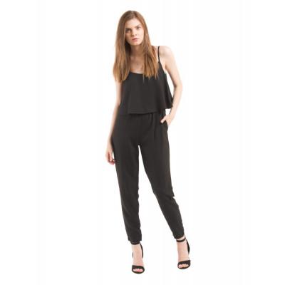 PRYM Black Layered Jumpsuit