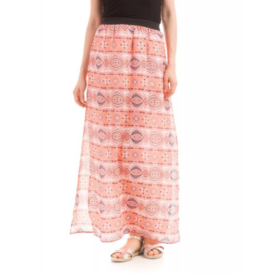 PRYM Printed Skirt with Side Slits