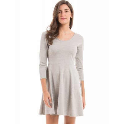 PRYM Light Grey Skater Dress