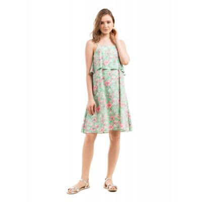 Prym Green Layered Cami Dress