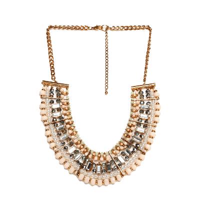 Shuffle Stone Studded Necklace
