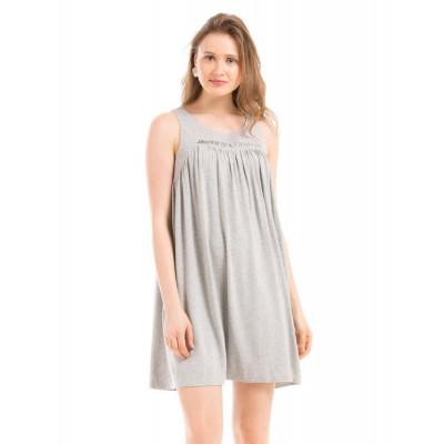Shuffle Grey Marl Swing Dress