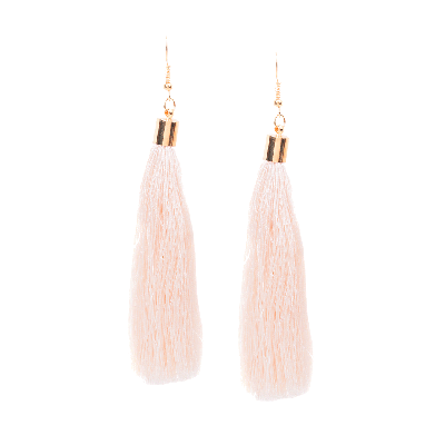 Rubans Pink Fringe Dangler Earrings