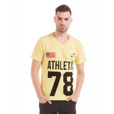 Prym Yellow Printed T-shirt