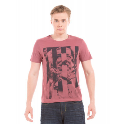 PRYM Dusty Rose Face Collage Printed T-Shirt