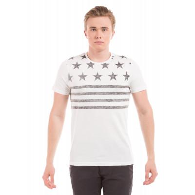 PRYM Off White Stars and Stripes T-Shirt