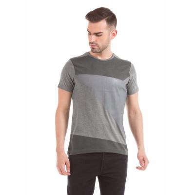 Prym Cement Melange Colour Block T-shirt