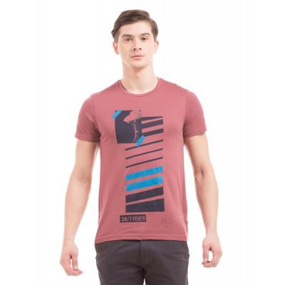 PRYM Dusty Rose Patch Print T-Shirt