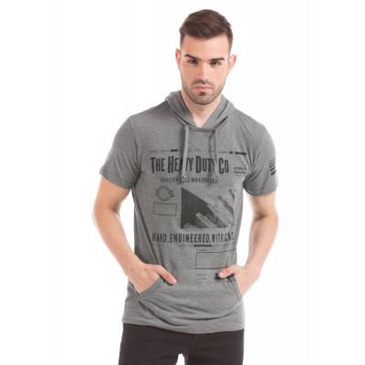 Prym Grey Printed T-shirt
