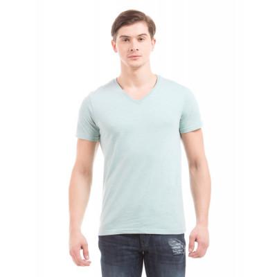PRYM Mint V-Neck Basic T-shirt