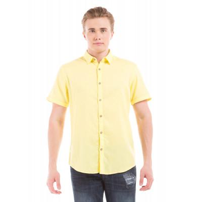 PRYM Yellow Half Sleeve Shirt