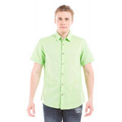 PRYM Light Green Half Sleeve Shirt