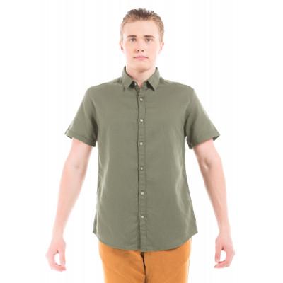 PRYM Olive Half Sleeve Shirt