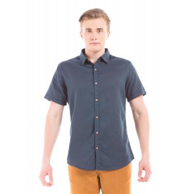 PRYM Navy Half Sleeve Shirt