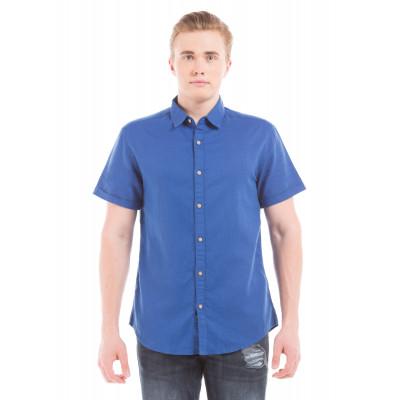 PRYM Royal Blue Half Sleeve Shirt