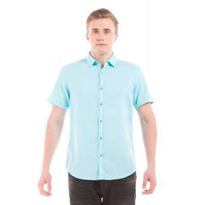 PRYM Turquoise Half Sleeve Shirt