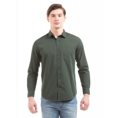 PRYM Military Green Poplin Shirt