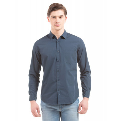 PRYM Navy Poplin Shirt