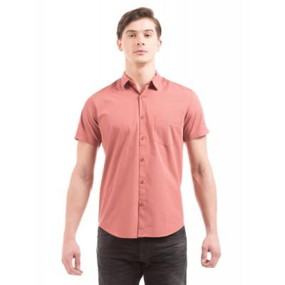 PRYM Dusty Rose Poplin Half Sleeves Shirt