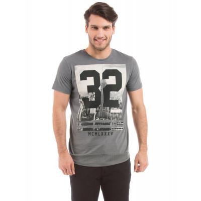 Shuffle Cement High Density Print T-shirt