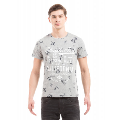 Shuffle Grey Nautical T-Shirt