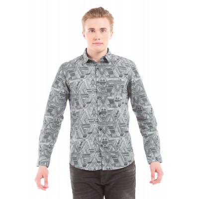 Shuffle Escher Printed Shirt