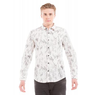Shuffle Brushstroke Print Shirt
