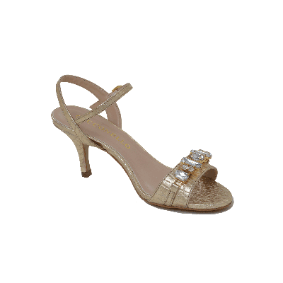 Cecconello Embellished Low Heeled Sandal