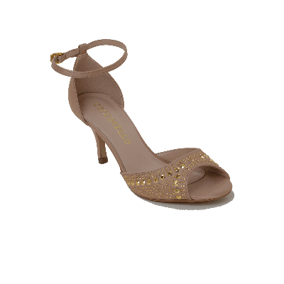 Cecconello Bejewelled Low Heeled Sandal
