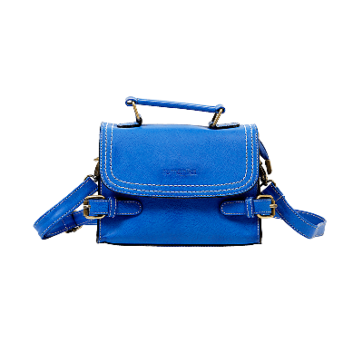 Claire Blue Boxy Sling Bag
