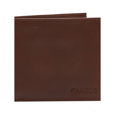 Camelio Smooth Brown Wallet
