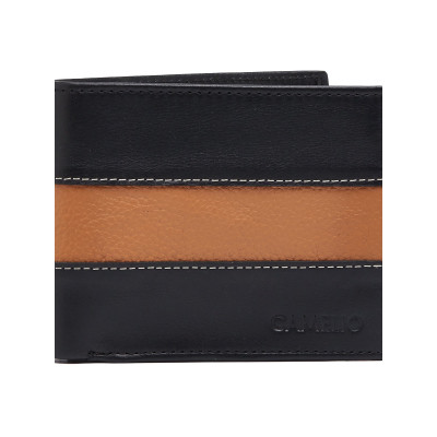 Camelio Contrast Panelled Leather Wallet