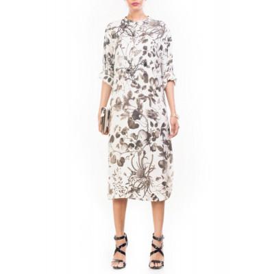 Anushree Agarwal Black & White Shift Dress