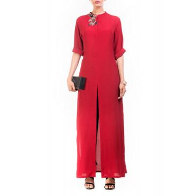 Anushree Agarwal Red Tunic