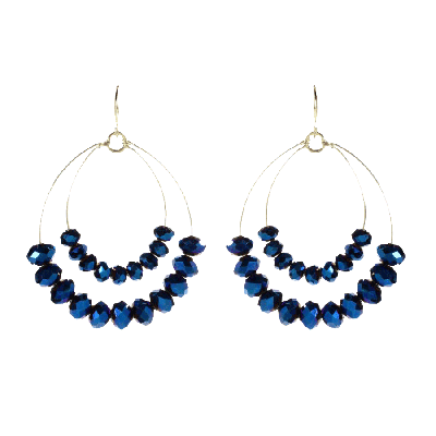 Amrita Singh Apiya Two-Tiered Earrings