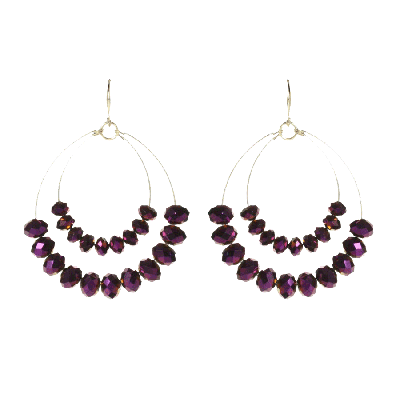 Amrita Singh Apiya Two-Tiered Earrings