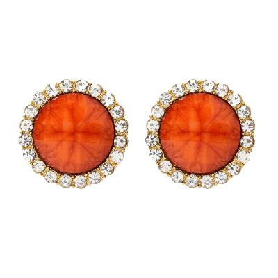 Amrita Singh Orange Bridgehampton Earrings